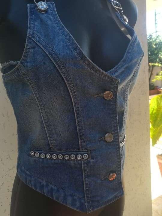 Chaleco en jeans - 1
