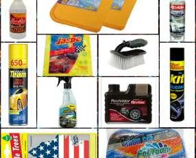 kit de limpieza para vehiculo