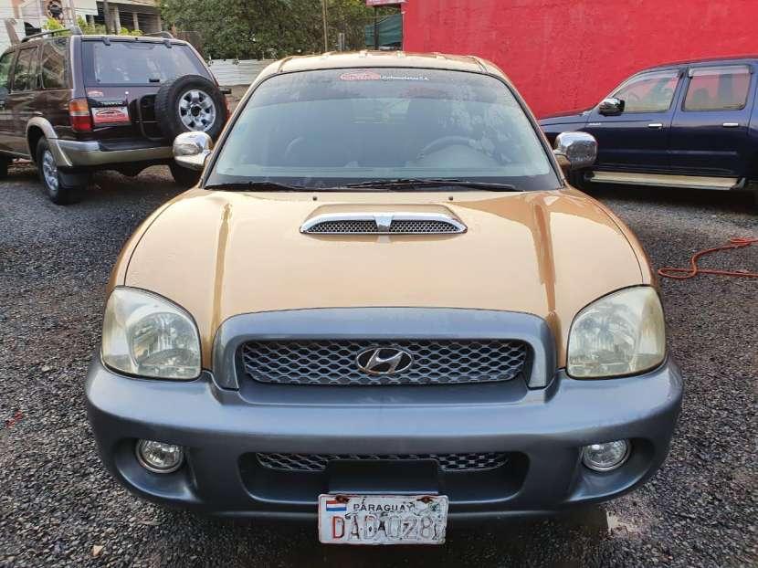 Hyundai santa fe 2002 motor 2.0 diesel caja mecanica - 0