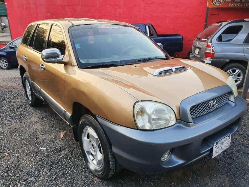 Hyundai santa fe 2002 motor 2.0 diesel caja mecanica - 2