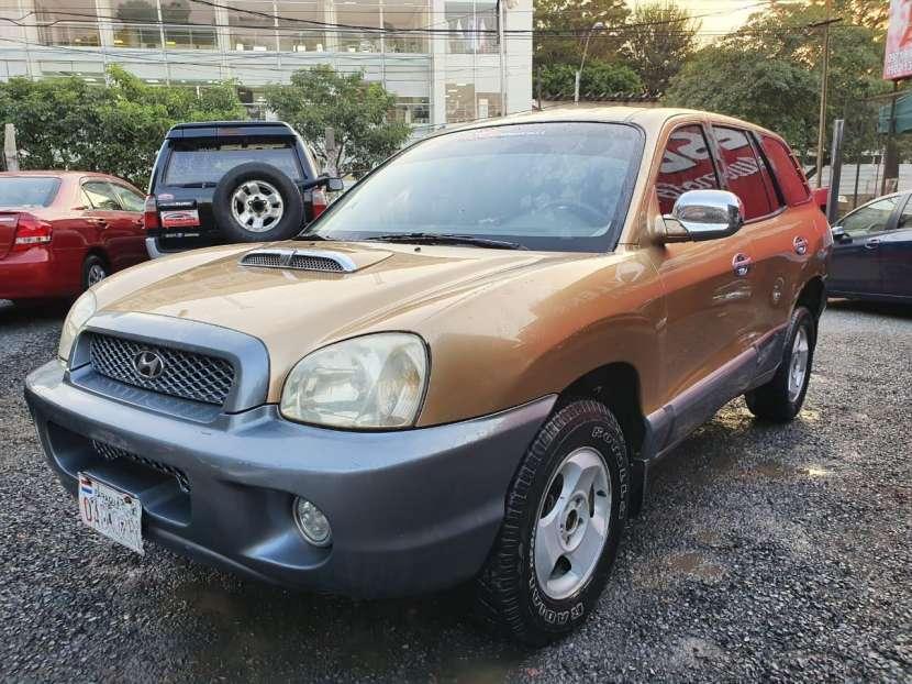 Hyundai santa fe 2002 motor 2.0 diesel caja mecanica - 3