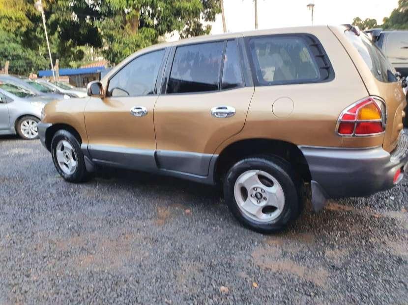 Hyundai santa fe 2002 motor 2.0 diesel caja mecanica - 4