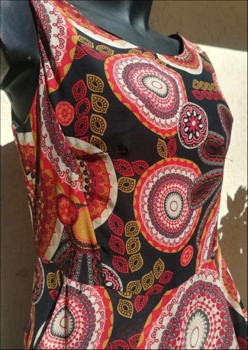 Vestido estampado - 1