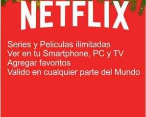 Netflix suscripción mensual 1 dispositivo