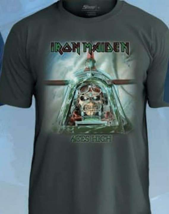 Remeras de Rock y Metal de Iron Maiden - 1