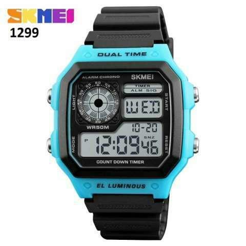 Reloj Skmei digital sumergible SKM1299 - 1