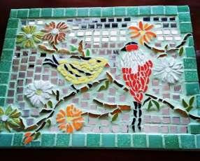Cuadro con mosaico