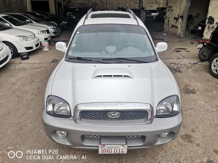 Hyundai santa fe 2003 full equipo motor 2.2 diésel - mecánico - 6