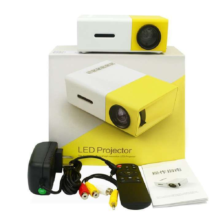 Mini proyector LED de 24 a 60 pulgadas con control - 1