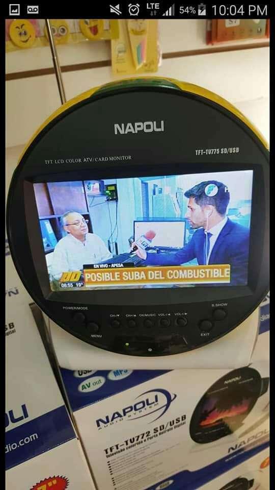 Tv portátil Napoli 7 pulgadas - 0