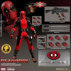 Mezco one:12 Deadpool Figura coleccionable