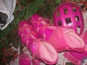 Roller rosado calce 38/39