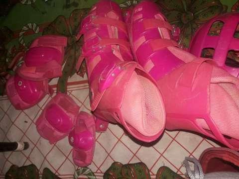 Roller rosado calce 38/39 - 2
