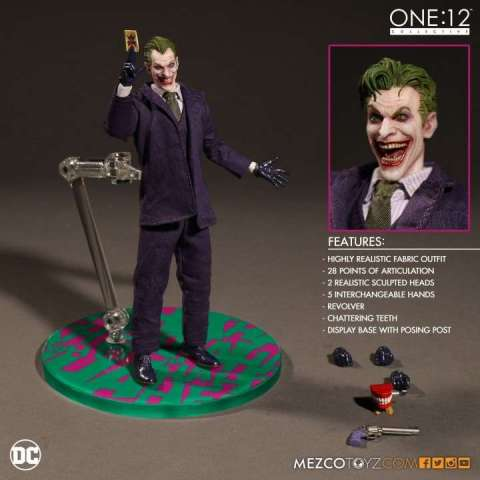 Mezco One:12 Joker Figura coleccionable
