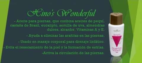 Aceite para las arañitas Hino's Wonderful