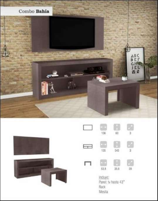Mueble Bahía de 3 piezas - 0