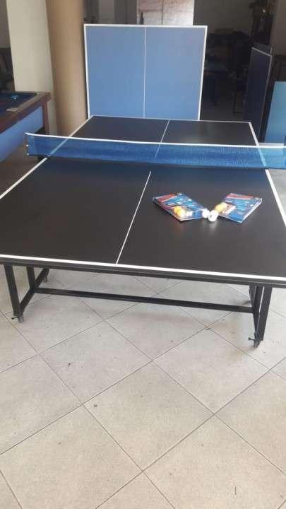 Mesa de Ping Pong con accesorios 15mm 3 modos de juego - 2