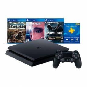 PS4 slim de 1TB con juegos