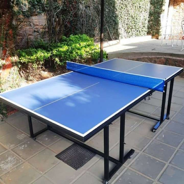 Mesa de Ping Pong con accesorios 15mm 3 modos de juego - 1