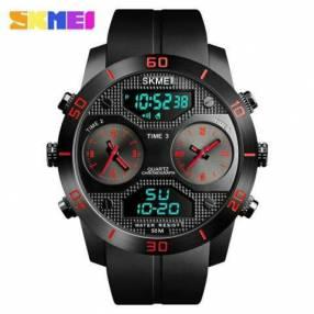 Reloj Skmei anadigi sumergible SKM1355