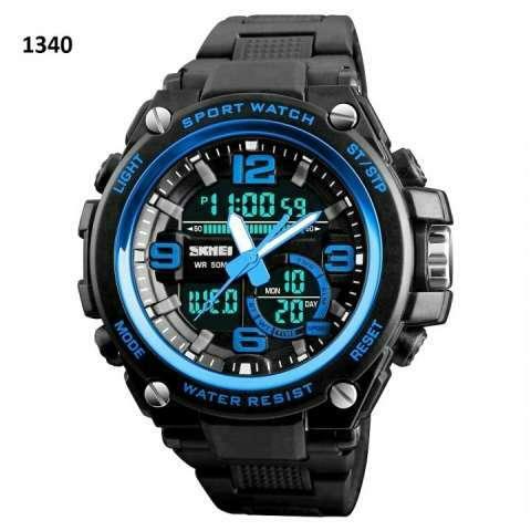 Reloj Skmei Anadigi sumergible SKM1340 - 4