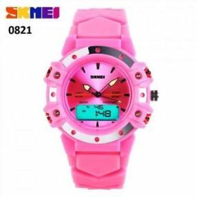 Reloj Skmei Anadigi sumergible dama SKM0821