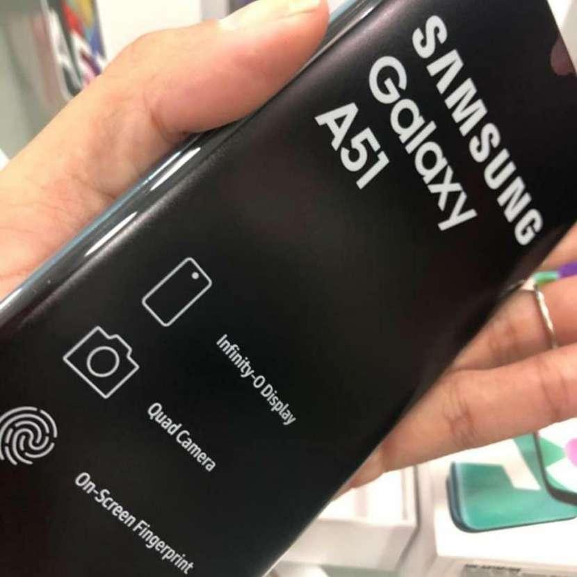 Samsung Galaxy A51 nuevo + protector ANTISHOK de regalo - 0