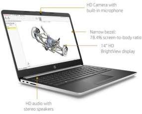 Notebook HP 14 Ryzen 3