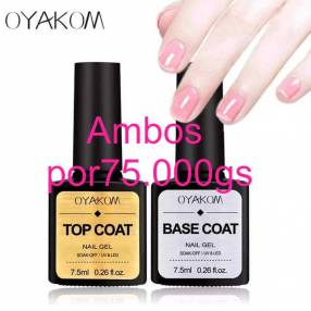 Base + Top coat / Top coat matte