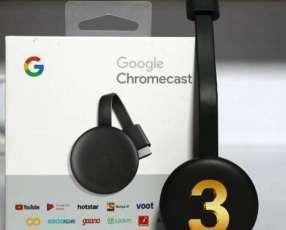 Chromecast 3 de Google smart tv