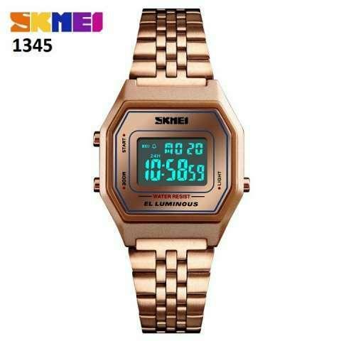 Reloj Skmei digital sumergible vintage SKM1345 - 0