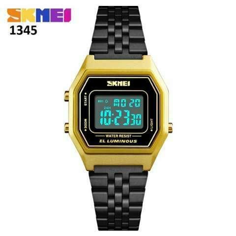 Reloj Skmei digital sumergible vintage SKM1345 - 1