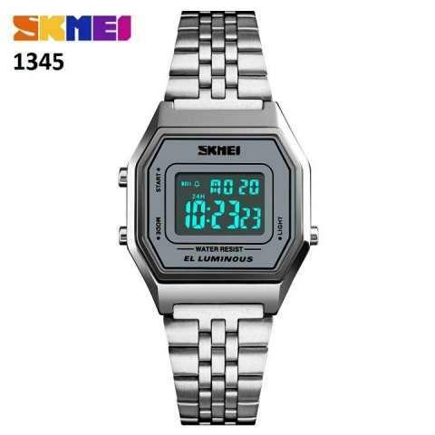 Reloj Skmei digital sumergible vintage SKM1345 - 3