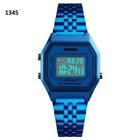 Reloj Skmei digital sumergible vintage SKM1345 - 4