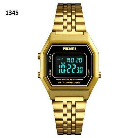 Reloj Skmei digital sumergible vintage SKM1345 - 5
