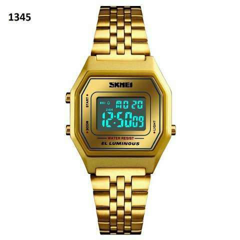 Reloj Skmei digital sumergible vintage SKM1345 - 6