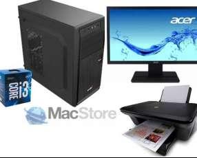 PC DE MESA CORE i3,9na.generacion,/ddr4 8gb/1tb/impresora
