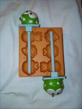 Juguete para hacer heladitos con diseño de frutas