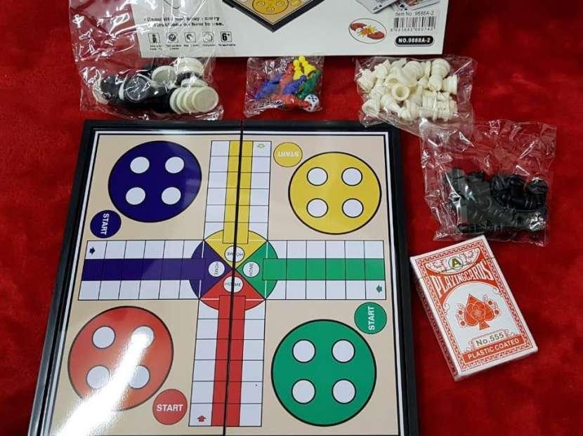 Juego de mesa 4 en 1 - 3