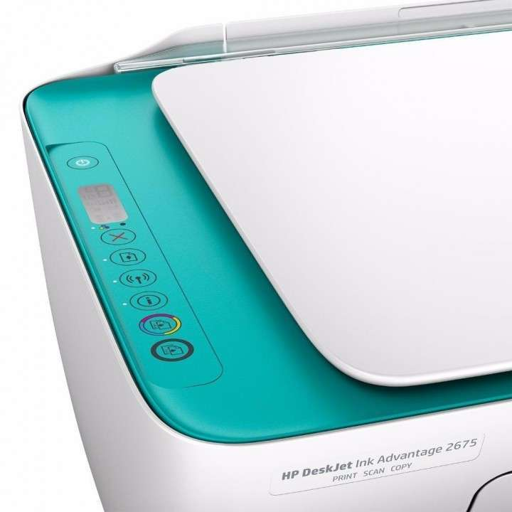 Impresora HP Deskjet 2675 wifi multifunción - 4