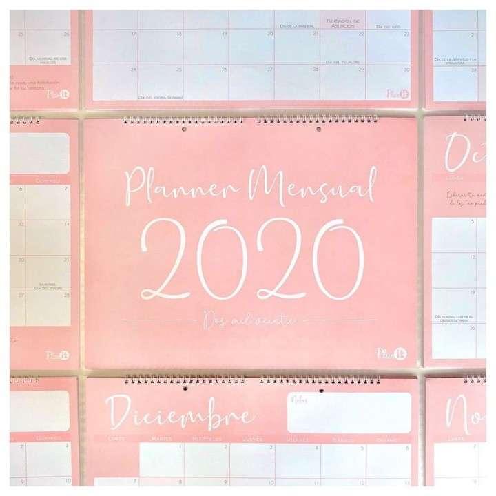 Planner mensual 2020 XL - 0