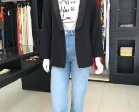 Blazer Tailoring Iodice negro talla P