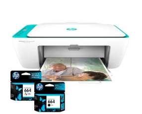 Impresora HP Deskjet 2675 wifi multifunción