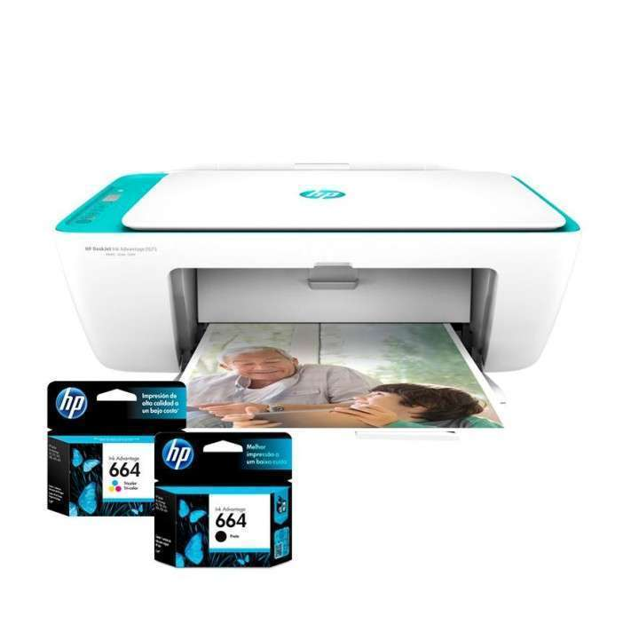 Impresora HP Deskjet 2675 wifi multifunción - 0