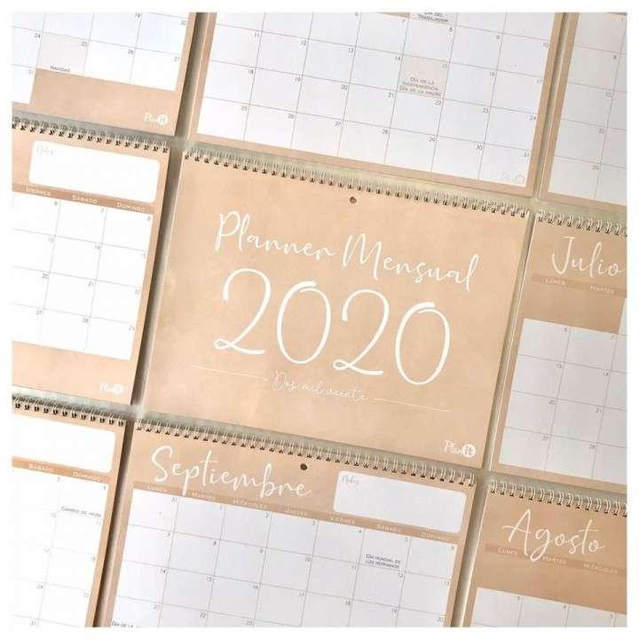 Combo solidario agenda unisex y planner mensual 2020 - 4