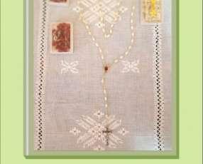Rosarios y pulseras traídos de Jerusalen, Medjugore y otros