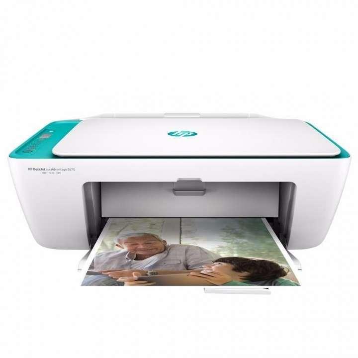 Impresora HP Deskjet 2675 wifi multifunción - 1