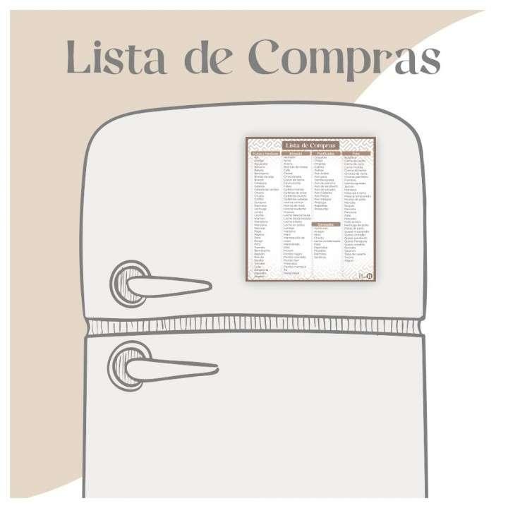 Lista de compras Marrón - 1