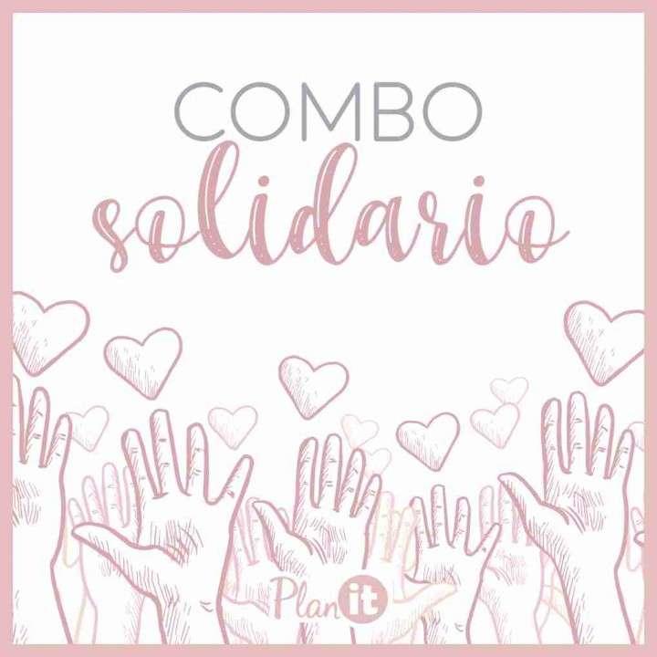 Combo solidario agenda unisex y planner mensual 2020 - 1