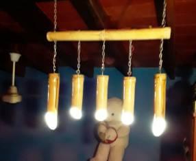 Lámpara artesanal